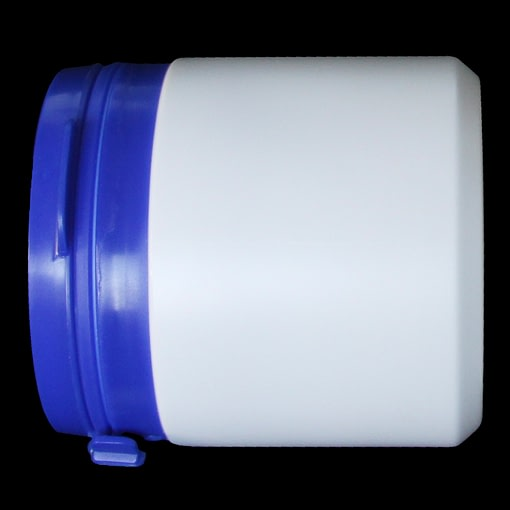 150ml tamper evident container white polyethylene (HDPE) with cap