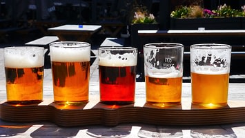 Beer selection image