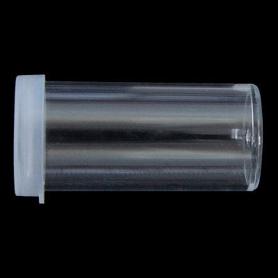 12ml clear snap top container polystyrene (PS)