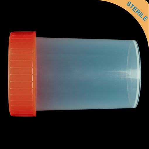 60ml screw top container polypropylene (PP) sterile
